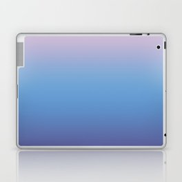 Ombre Pink Blue Ultra Violet Gradient Pattern Laptop & iPad Skin