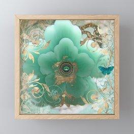 Gilded Sakura Framed Mini Art Print
