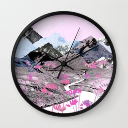 Daisy Mountain Wall Clock