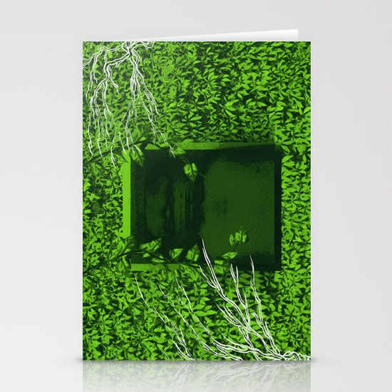 """Overgrown"" by Justin Hopkins Stationery Cards"