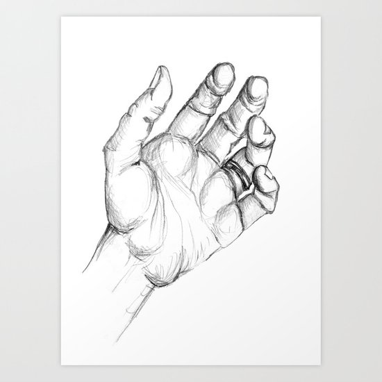 Mano Art Print