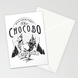 Chocobo Forest - Vintage Stationery Cards