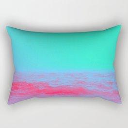 Neon Sea Rectangular Pillow