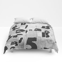 Abstract pattern 51 Comforters