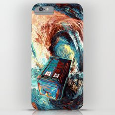 Tardis doctor who at starry night Dark Vortex iPhone 4 4s 5 5c 6, pillow case, mugs and tshirt iPhone 6s Plus Slim Case