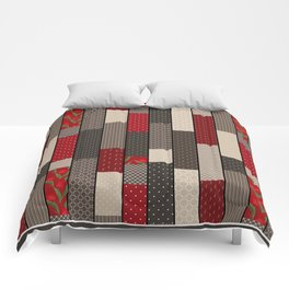 Country motifs . Classic quilting. Comforters