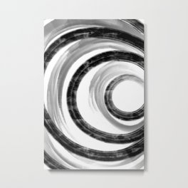 Abstract Painting No. 25 - Influence Metal Print