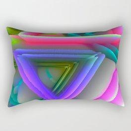 pop triangels Rectangular Pillow