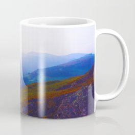 Land of Legends - Blue, Green and Purple Coffee Mug