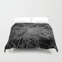 brussels Duvet Covers featuring Brussels by Line Line Lines