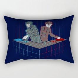 Techno-Tron-ic Rectangular Pillow