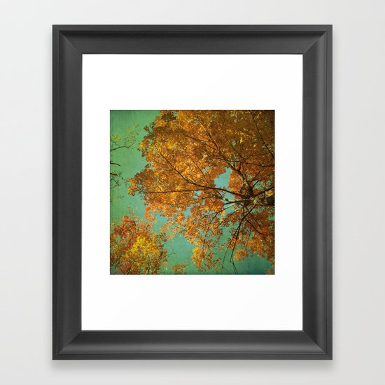 Falling in Love Framed Art Print