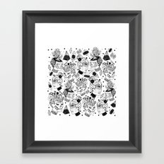 Las Chulas Framed Art Print