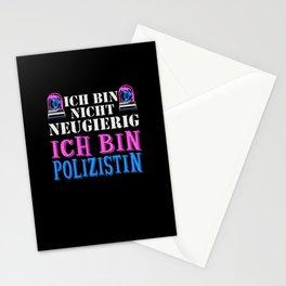 Ich kann Dummheit nicht heilen - Police Stationery Cards