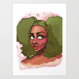 Pom Pom Art Print