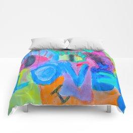 Summer Love | Painting by Elisavet Comforters