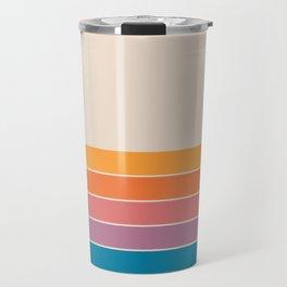 Boca Spring Stripes Travel Mug