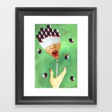 OH!! Framed Art Print