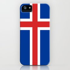 The Flag of Iceland iPhone (5, 5s) Slim Case