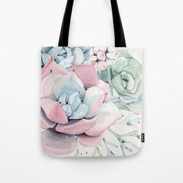 Garden of Succulents Tote Bag