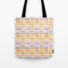 Pattern Project #19 / Run Run Run Tote Bag