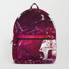 And Life Is Very Long | woman shadow graffiti painting Backpack