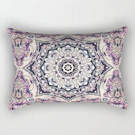 Abstract Octagonal Mandala Rectangular Pillow