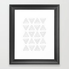 The Impossible Triangles Framed Art Print