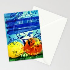 Organic Fruits Stationery Cards