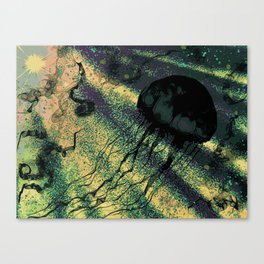jellyspore Canvas Print