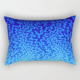 Fractal Gradient WATER Rectangular Pillow