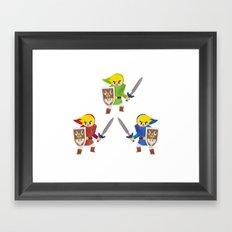 Links! Framed Art Print