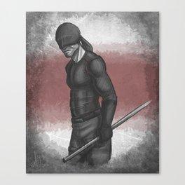Devil Who Dares Canvas Print