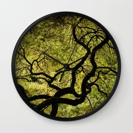 Japanese Maple Tree Wall Clock