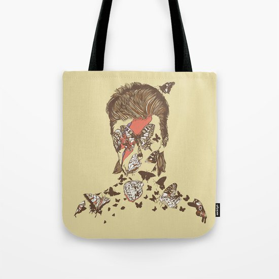 FACES OF GLAM ROCK Tote Bag