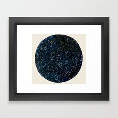 Look to the Stars Framed Art Print