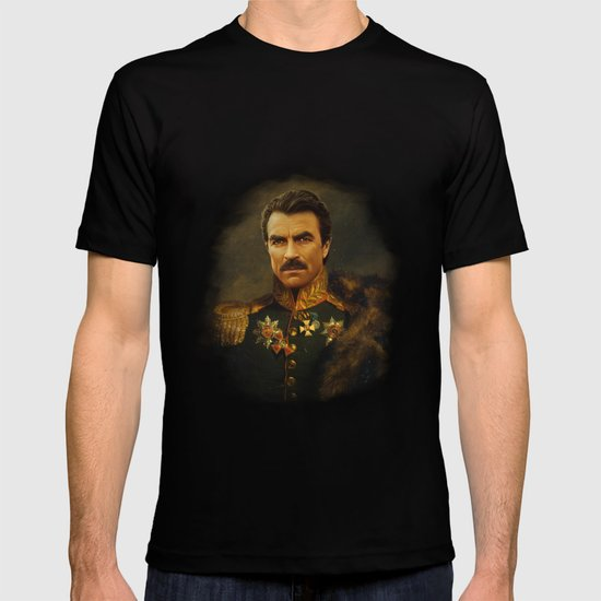 Tom Selleck - replaceface T-shirt