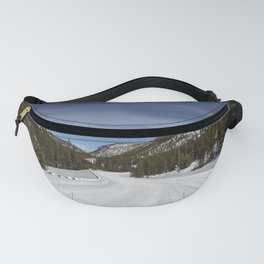 Carol Highsmith - Snow Covered Road Fanny Pack