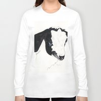 belle Long Sleeve T-shirts featuring Belle by Bren Sparling