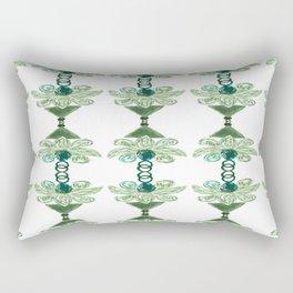 Jewel green Rectangular Pillow
