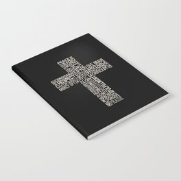Cross with words Notebook