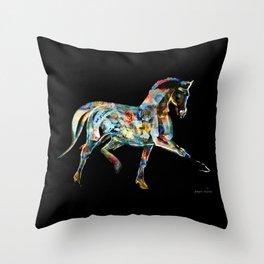 Horse (Cirque de soleil) Throw Pillow