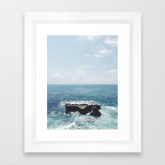 Ocean Rock Framed Art Print