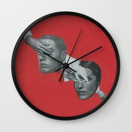 Like playing russian roulette Wall Clock