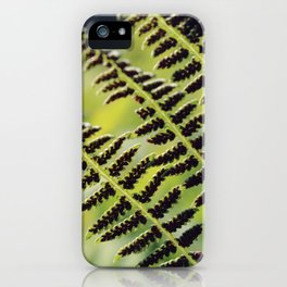 Lycopode 3 iPhone Case