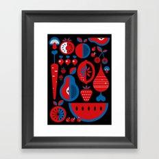 Fruits Framed Art Print