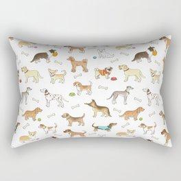 Breeds of Dog Rectangular Pillow