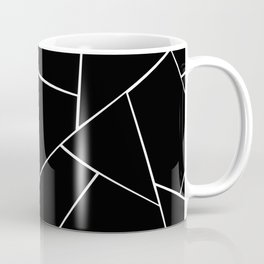 Black White Geometric Glam #2 #geo #decor #art #society6 Coffee Mug