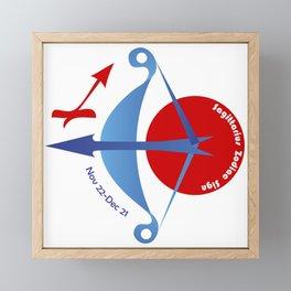 Sagittarius - Archer Framed Mini Art Print