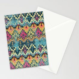 Multicolore Carpet Design Stationery Cards